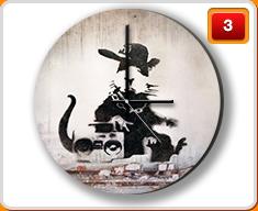 Banksy Clocks