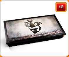 Banksy Laptop Trays