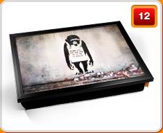 Banksy Lap Trays