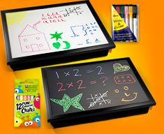 Whiteboard and Blackboard Lap Trays