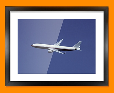 Airbus A330 Plane Framed Print