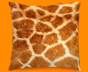Animal Skin Giraffe Funky Sofa Cushion 45x45cm