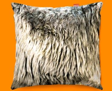 Animal Skin Sheep Funky Sofa Cushion 45x45cm