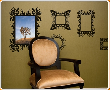 Antique Frames Wall Sticker