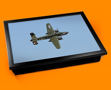 B 25 Mitchell North American Aviation Plane Cushion Lap Tray