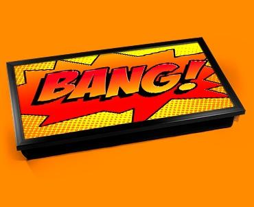 Bang Comic Laptop Lap Tray