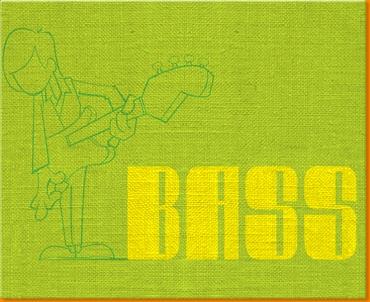 BASS  Canvas Art Print