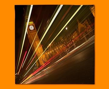 Big Ben Traffic Napkins (Set of 4)