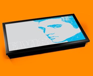 Blue Elvis Laptop Lap Tray
