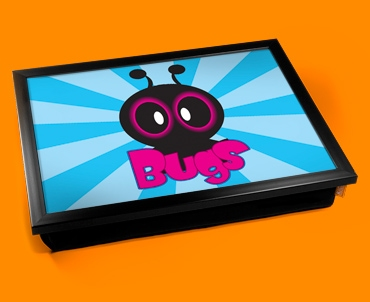 Bugs Cushion Lap Tray