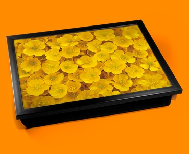 Butter Cups Cushion Lap Tray