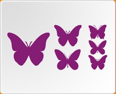 Butterfly Mini Pack Wall Sticker