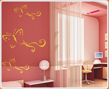 Butterfly 1m Wall Sticker