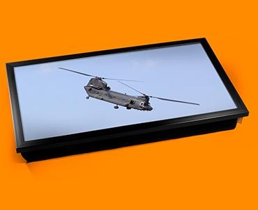 Chinook Boeing Plane Cushion Laptop Tray