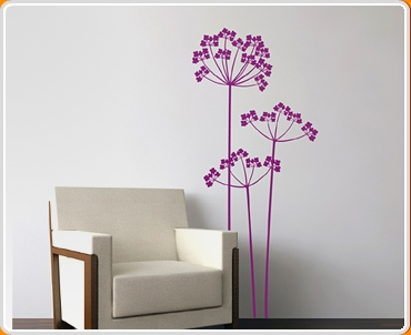 Cow Parsley Wall Sticker