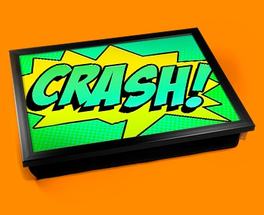 Crash Comic Cushion Lap Tray
