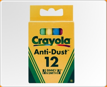 Crayola Coloured Chalk Extra Pack