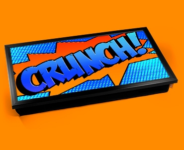 Crunch Comic Laptop Lap Tray