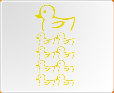 Ducks 2 Set Wall Sticker