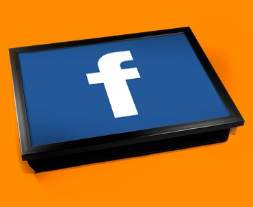 Facebook F Cushion Lap Tray