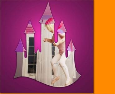 Fairytale Castle Mirror