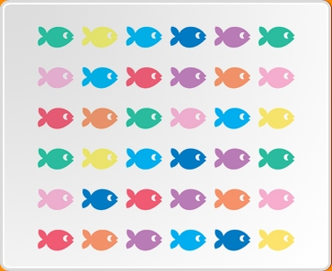 Fish Set Wall Sticker