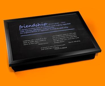 Friendship Definition Lap Tray