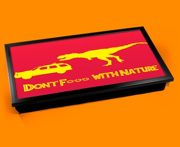 F*** Nature Laptop Lap Tray