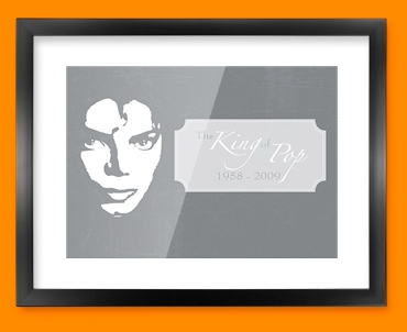Grey Jacko Framed Print