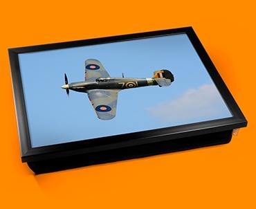 Hurricane Hawker Plane Cushion Lap Tray