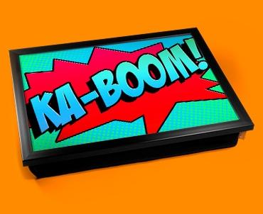 Ka-Boom Comic Cushion Lap Tray