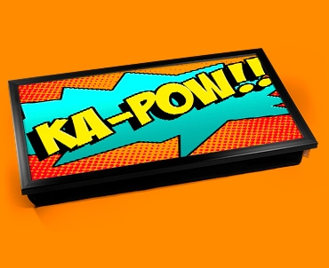 Ka-Pow Comic Laptop Lap Tray