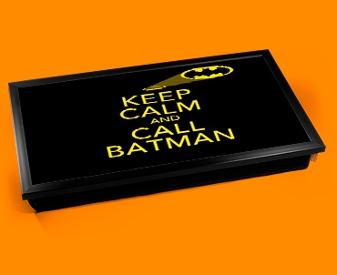 Call Batman Keep Calm Laptop Lap Tray