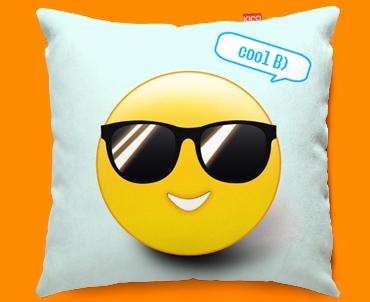 Cool Emoticon Funky Sofa Cushion