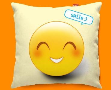 Smile Emoticon Funky Sofa Cushion