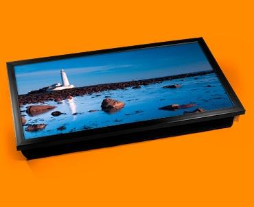 Light House Rocks Laptop Lap Tray