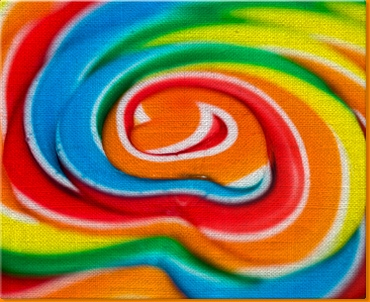 Lolly Pop Canvas Art Print