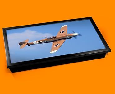 Me 109 Messerschmit Plane Cushion Laptop Tray