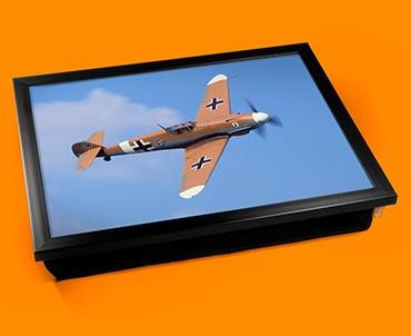 Me 109 Messerschmitt Plane Cushion Lap Tray