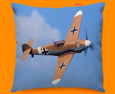 Me 109 Messerschmitt Plane Sofa Cushion