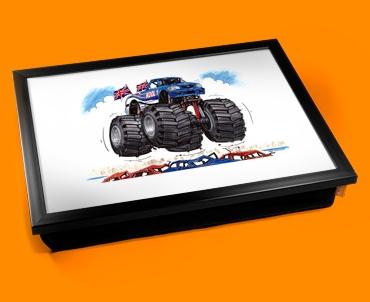Monster Truck Cushion Lap Tray