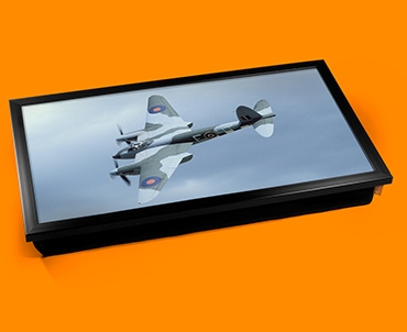 Mosquito de Havilland Plane Cushion Laptop Tray