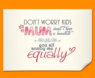 Mum Typography Poster