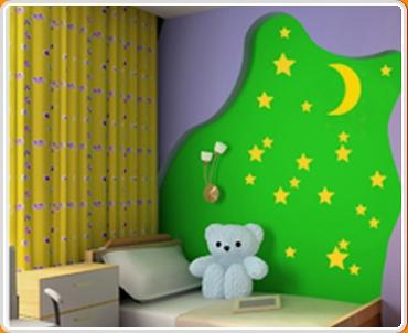 Nightime Set Wall Sticker