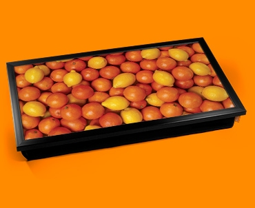 Oranges Lemons Laptop Lap Tray