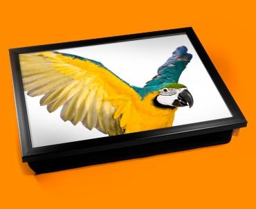 Parrot Cushion Lap Tray