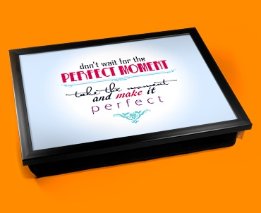 Perfect Typography Lap Tray