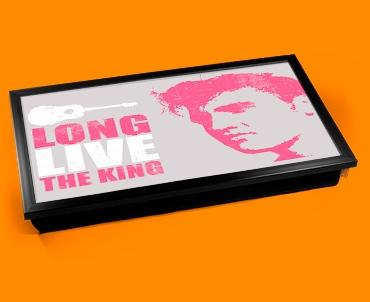 Pink Elvis Laptop Lap Tray