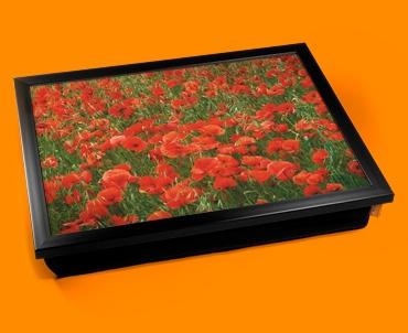 Poppies Cushion Lap Tray