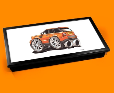 Orange Range Laptop Lap Tray